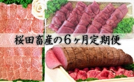 【秋企画 定期便6回】(1)(4)『馬刺し約350g』(2)(5)『ローストビーフ約300g』(3)(6)『上カルビ肉 約350g』