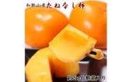 ZD92057_【厳選・産直】和歌山産のたねなし柿3L・4Lサイズ約2kg(化粧箱入り)  ※着日指定不可