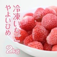 B10-163 冷凍いちご やよいひめ2kg (500g X 2) スムージー ジャムに最適