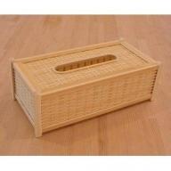 166.四国産竹使用 ティッシュBOX