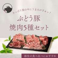 22-14_綾ぶどう豚焼肉・バーベキュー食べ比べセット【お届け日時指定可】