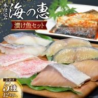 本仕込み海の恵5種セット(鯖・鱈・鰤・赤魚・鰆)<豊洋海産流通>【宮城県気仙沼市】