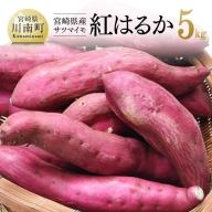 宮崎県産 サツマイモ 「紅はるか」 5kg