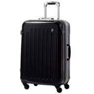 X340 PC7000スーツケース(Mサイズ・ナイトブラック)