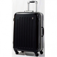 X344 PC7000スーツケース(MSサイズ・ナイトブラック)