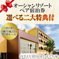 No.088 OCEAN RESORTえぐち家ペア宿泊券【OCEAN RESORT えぐち家】