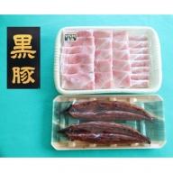 【A02021】鹿児島県大隅産 うなぎ2尾・黒豚モモスライスセット