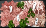 鹿児島県産焼肉セット約2.1kg(約10人前)
