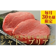 【D43008】超希少!<A4等級>黒毛和牛シャトーブリアン