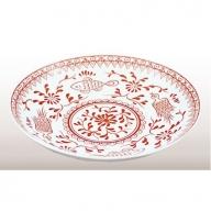 A15-13 香蘭社 魚鳥紋・盛り皿
