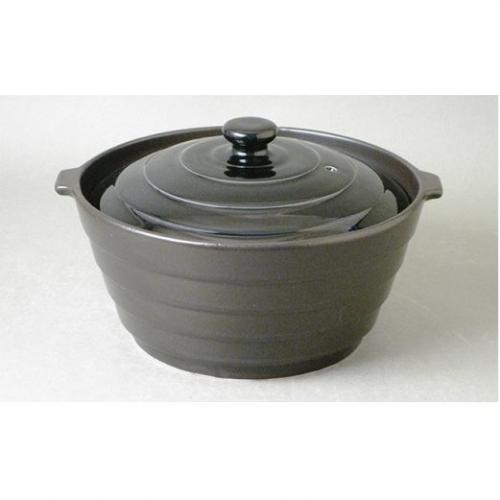 A20-85 有田焼 熱々のまま食卓へ「Only碗」(ブラック)