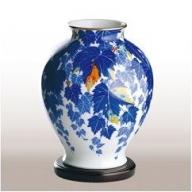A130-6 香蘭社 蔦・花瓶