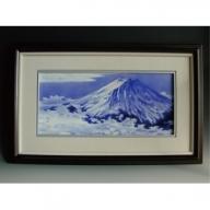 A300-9 深川製磁 富士山 特大陶額