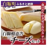 [№5723-0154]白糠酪恵舎チーズセット【3種類×2組】
