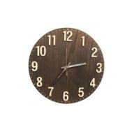 木製壁掛け電波時計