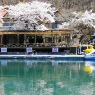 [5839-0085]伝説の湖 四尾連湖畔の宿 宿泊券(1名1泊2食)