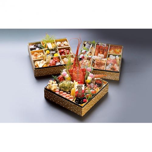 【おせち】 日本料理 悠善 和三段重「奏」―kanade― ※クレジット限定