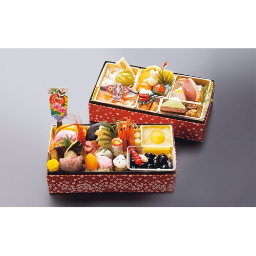 【おせち】日本料理 悠善 「1人前おせち」健美彩 ※クレジット限定
