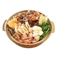 【期間限定お届け!】 地鶏山の芋・キリタンポ鍋セット 2人前