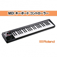 【Roland】MIDI キーボード コントローラー A-49-BK