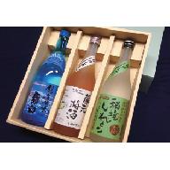 銀の海峡 羅臼特別本醸造 蔵元梅酒 秘境しれとこそば焼酎セット