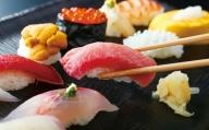 【J3-006】『寿司 まつばら』特上ディナーコースペアチケット×2枚