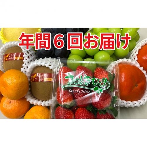 旬の選りすぐりフルーツ定期便(年6回)
