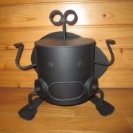【AL-2】ロボット型七輪 しち丸