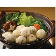C058 フワフワつみれ鍋セット~安心の地元野菜付~