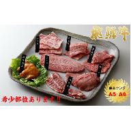 飛騨牛食べつくしセット4kg【20年連続飛騨牛最優秀賞落札店が厳選】