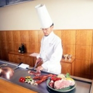 レストラン&鉄板焼き 花水木 ペアディナー券 飛騨牛鉄板焼コース
