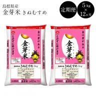 92-SS-7 BG無洗米・金芽米【定期】きぬむすめ 5kg/12ヵ月