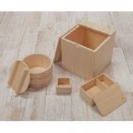 【香り豊かな木工品】樅の木キッチンセット 30-S805