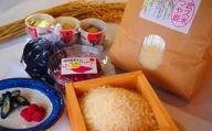【年4回お届け】角田のお米、季節のご飯セット