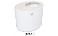 上から猫トイレ(ホワイト)