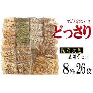 国産大豆の豆菓子と芋けんぴ たっぷり8種26袋 食べ比べセット