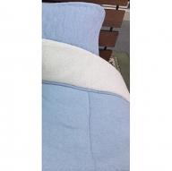 スーパーパイル 肌布団 シングル ブルー