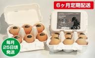 【6ヶ月定期配送】烏骨鶏卵 毎月25日頃発送