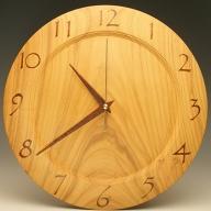木の時計 桜 29.7cm