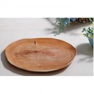 木芸作家たまさんが造る イチイの木のお皿