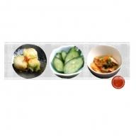 漬物(白菜・きゅうり)と元気キムチの詰合せ
