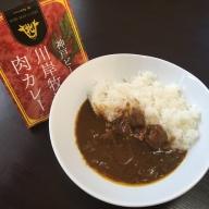 【川岸牧場】神戸ビーフ肉カレー3食セット