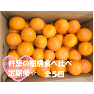 Z0001 【ご家庭用】杵築の柑橘食べ比べ定期便(全5回)