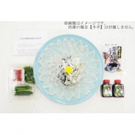 J2008 【冷凍】大分水産の豊後とらふぐ刺身&高級魚くえ刺身の味比べセット(6人前)