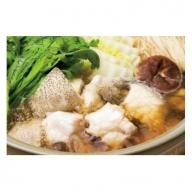 J2006 大分水産の豊後とらふぐ鍋&高級くえ鍋の味比べセット(6人前) 【冷蔵】