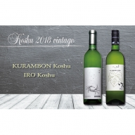 平成最後のヴィンテージワイン2本セット 山梨のワイン