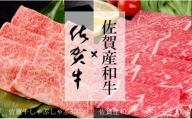 N20-23 佐賀牛しゃぶしゃぶ肉300g&佐賀産和牛しゃぶしゃぶ肉300g【楽しい食べ比べセット!佐賀自慢の高級肉をお届け!】