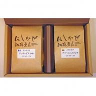 フルーティーな香りと味わいのグァテマラ!中深煎りコーヒー2種・B〈粉〉