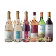 C001-5 「十勝ワイン」 赤・白・ロゼ・スパークリングセット