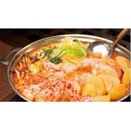 【超本格】韓流キムチチゲ鍋セット!!(6人前)